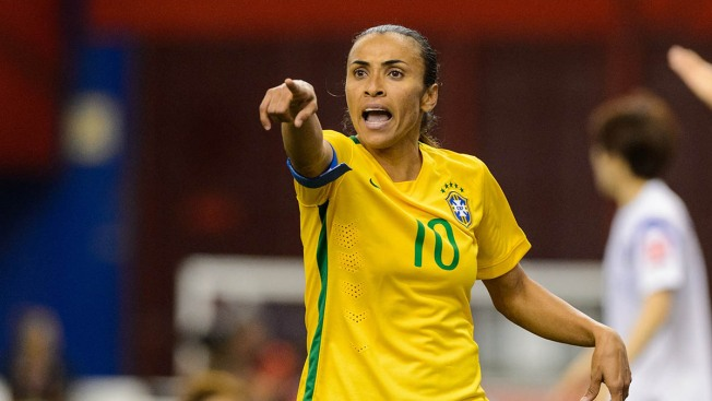 Women's World Cup: Marta Scores Record 15th World Cup Goal in Brazil Win