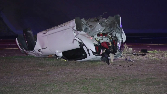 Teen DUI Suspect Splits Car in Half in Crash