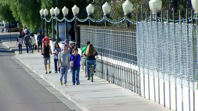 Light Fixtures Restored Along Cabrillo Bridge