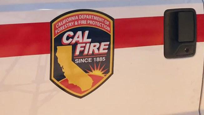Vegetation Fire Burns Near SR-79 in Warner Springs