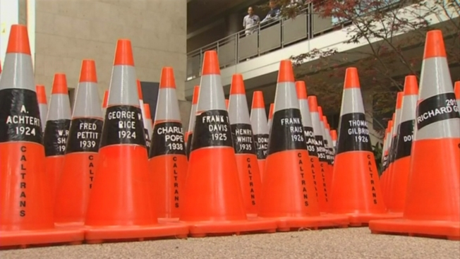 Caltrans Pays Tribute to Workers Killed on Duty