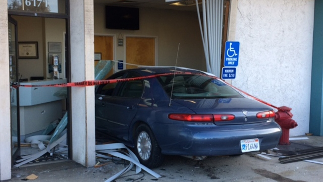 Driver Rams Into Animal Hospital in Clairemont
