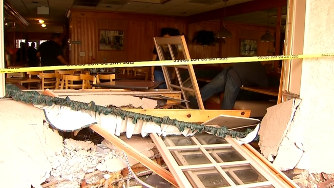 Driver Plows Into Breakfast Restaurant