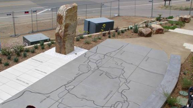 Residents Donate Artifacts for Cedar Fire Monument