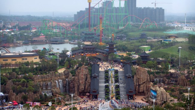 Chinese Developer Wanda Opens Theme Park to Take on Disney