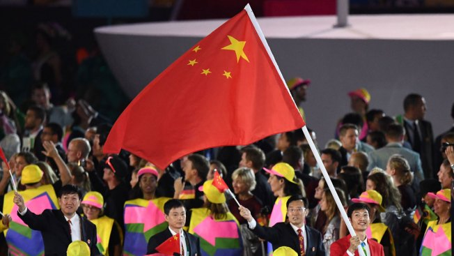 Rio Organizers Cause Uproar After Bungling Chinese Flags