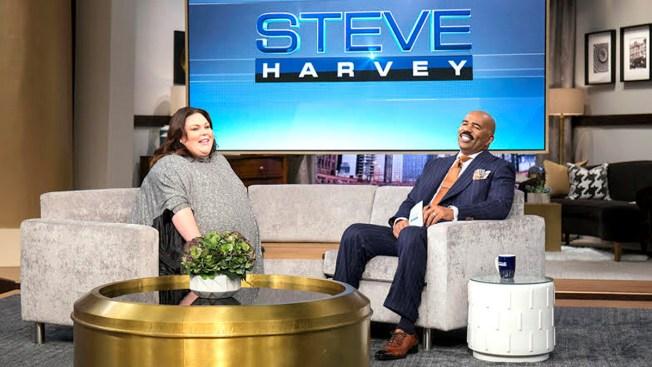 Chrissy Metz Appears on 'Steve Harvey' Wednesday