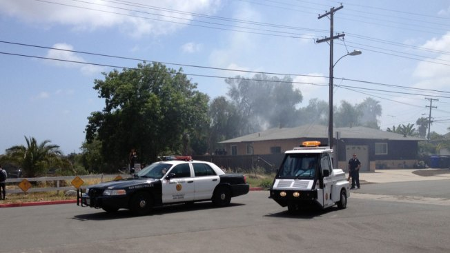 RV Fire Spreads to Home in City Heights