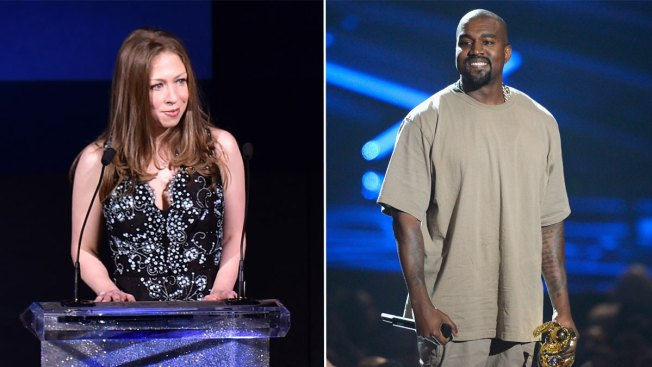 Chelsea Clinton Weighs in on Kanye West's White House Plans