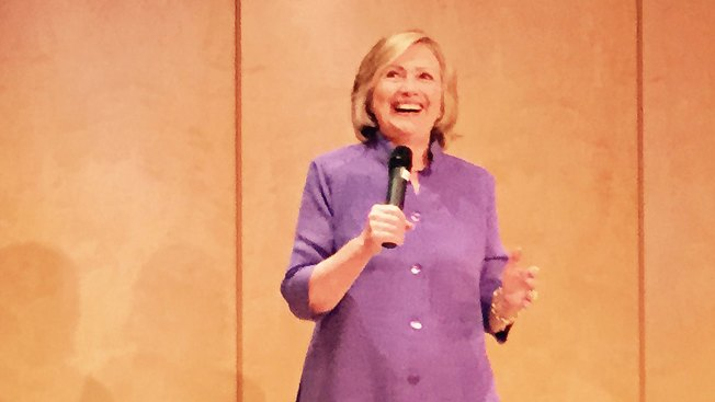 Hillary Clinton Visits La Jolla for Jacobs Fundraiser