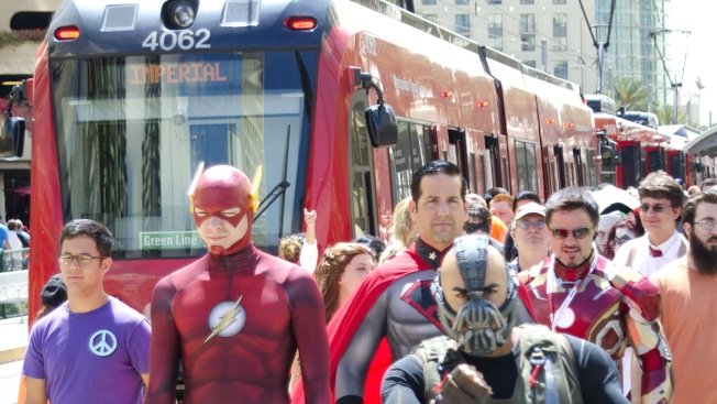 MTS Trolley, Bus Service Powers Up for Comic-Con