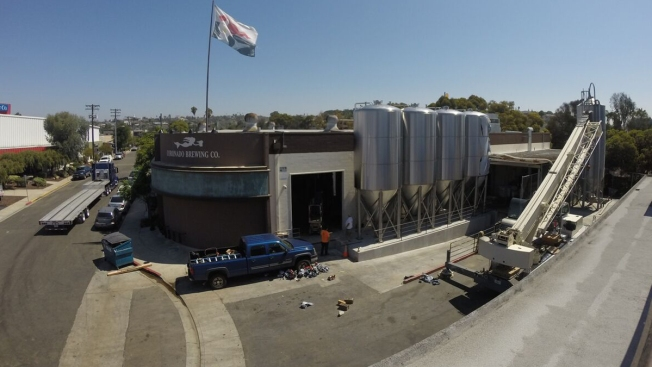 More Tanks, Canning Line in Works for Coronado Brewing Co.