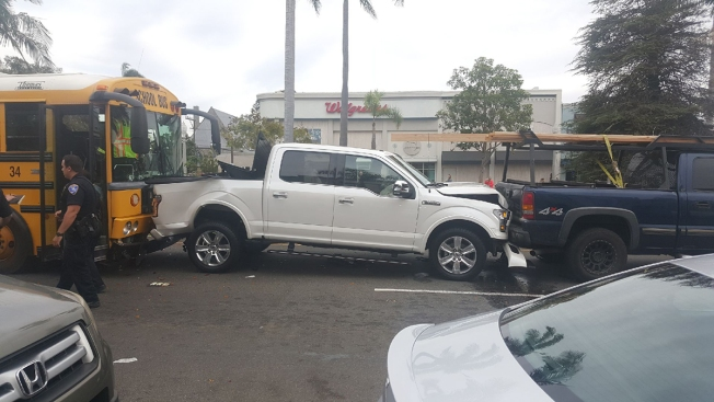 Student-filled bus involved in minor accident