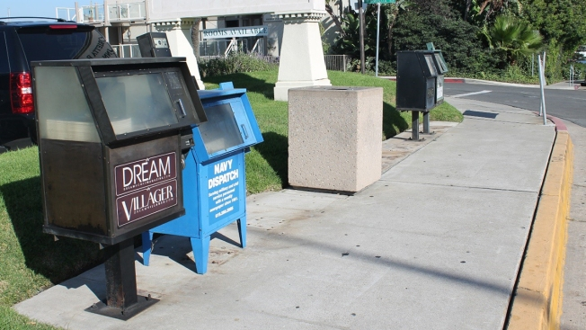 Coronado Vows to Clean Up 'Eyesore' Newsracks