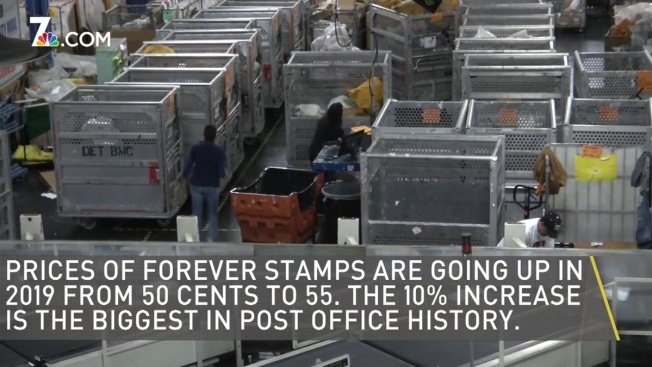 Forever Stamp Price Increases Are Biggest In US Postal Service History