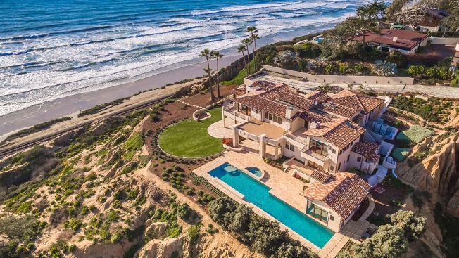 [G] Oceanfront Del Mar Mansion Sells for Record-Breaking $21.5 Million