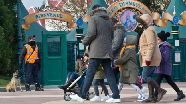 Terrorism Ruled Out in Disneyland Paris Arrest