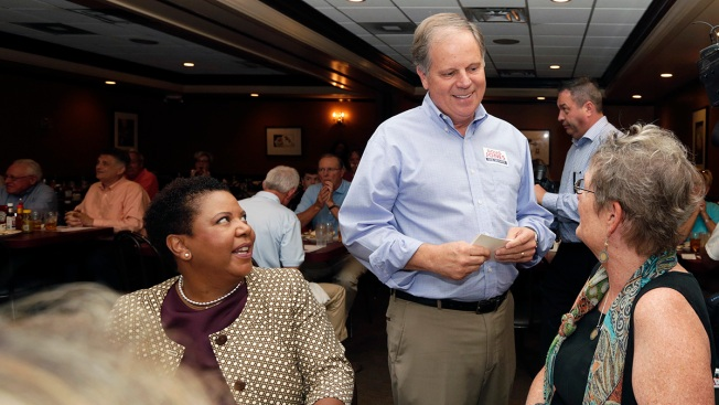 After Moore's Alabama Win, Dems See Sliver of Hope in Jones