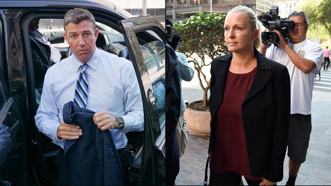Duncan Hunter Reacts to Wife's Guilty Plea