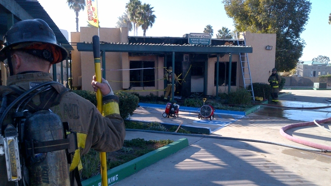 Fire Breaks Out at Medical Clinic