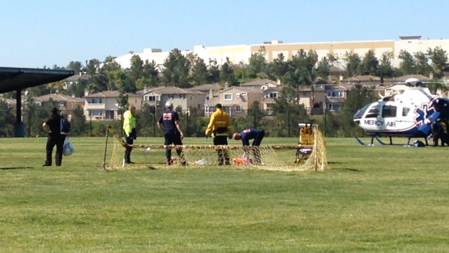 Student Injured In Soccer Goal Post Accident Nbc 7 San Diego