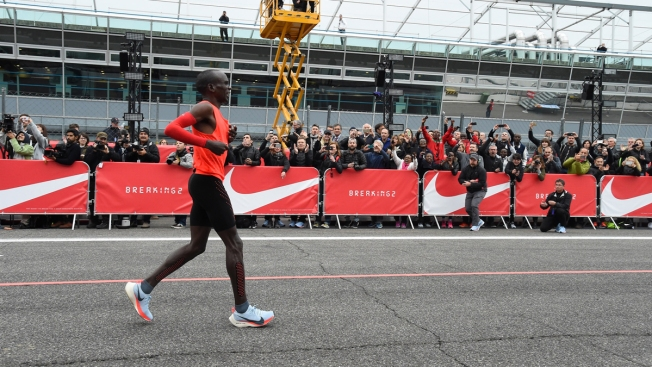 Man Falls 26 Seconds Short of 1st Sub 2-Hour Marathon