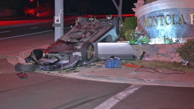 Driver, 33, Killed in Rollover Crash - NBC 7 San Diego