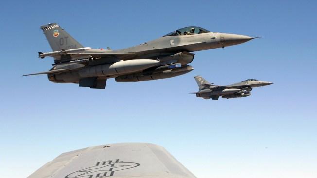 Military Jet Crashes During Exercises Over Vast Nevada Range