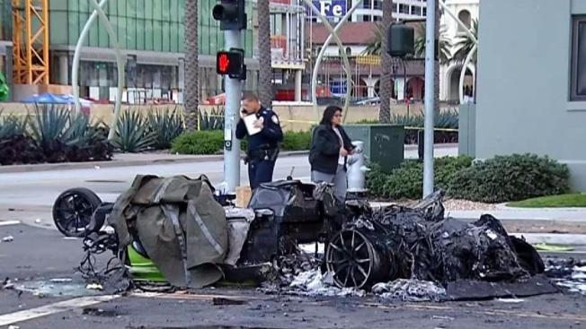 driver in fiery lamborghini crash had blood-alcohol level twice