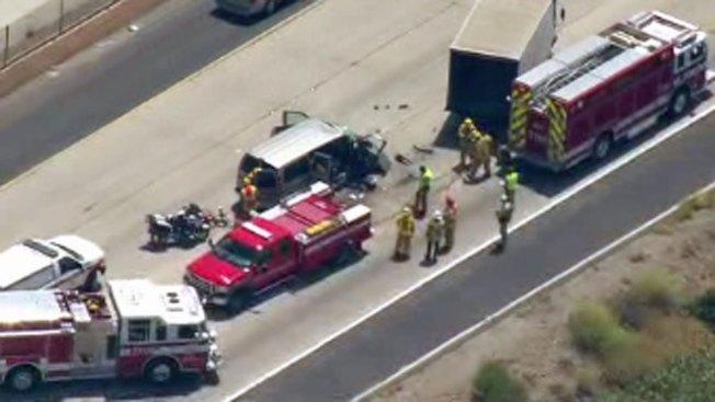1 Dead in I-5 Crash Near San Onofre