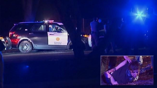 Woman Takes Joy Ride in Stolen Cop Car