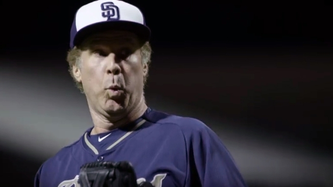 Will Ferrell 'Takes the Field' at San Diego's Petco Park