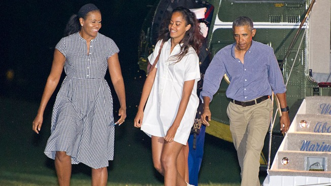 First Family Goes Hiking in National Park in Virginia