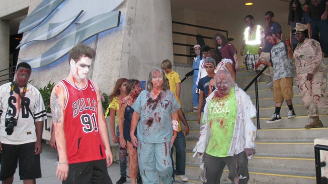 """Walking Dead"" Zombies to Invade Downtown San Diego"
