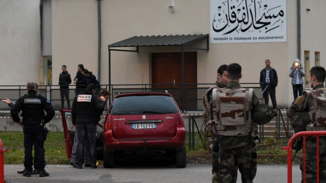 Driver Plows Car Into Troops Guarding French Mosque