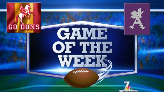 NBC 7 Game of the Week: Saints vs. Holy Dons