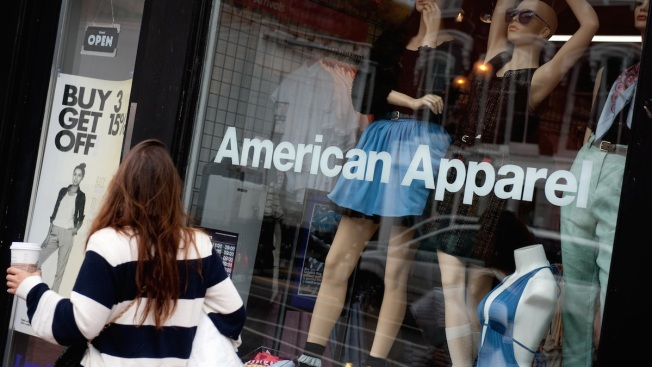 American Apparel Files For Bankruptcy