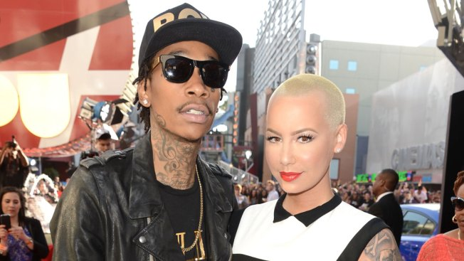 Wiz Khalifa, Rose Involved in Twitter Tussle Over Threesome