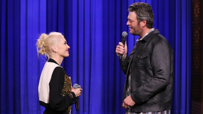 Blake Shelton & Gwen Stefani Share the Love on 'The Voice'—Plus, Is Pharrell Feeling Jealous?