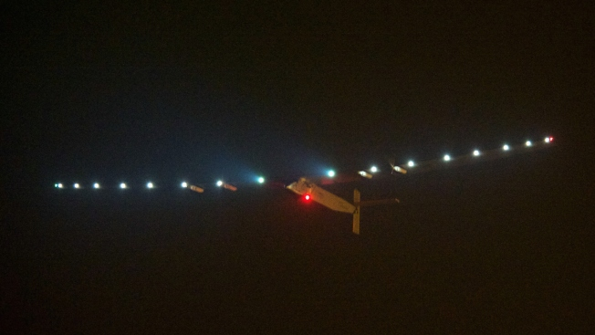 Solar Impulse Plane Lands in Japan Due to Bad Weather