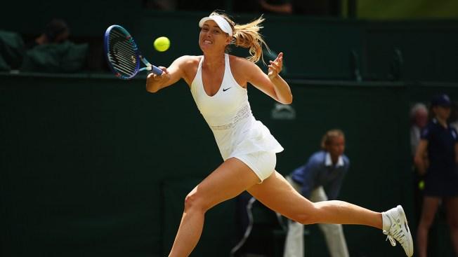 Sharapova Subdues Vandeweghe to Reach Wimbledon Semifinals