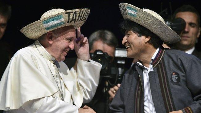 Bolivia's President Evo Morales Calls Pope's Teachings 'Socialist'