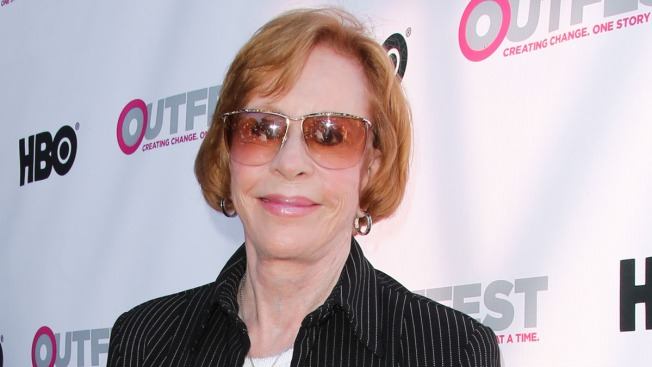 Carol Burnett Receives SAG Lifetime Achievement Award