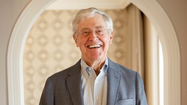 Charles Koch Explains to Donors Why He Won't Support Trump