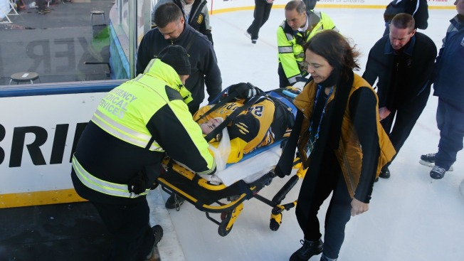 Hockey Player to Sue NHL, Patriots Over Spinal Injury: Report