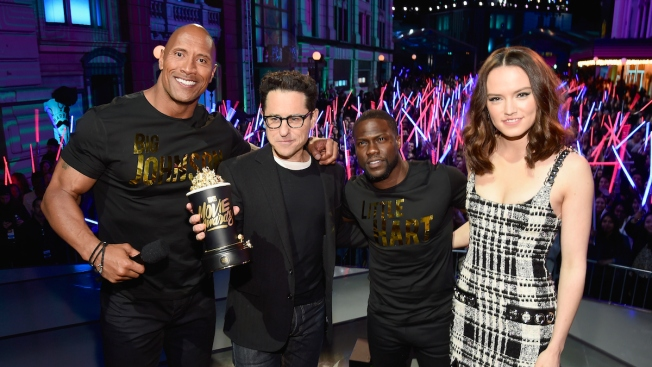 'The Force Awakens' Wins Top Honors at MTV Movie Awards
