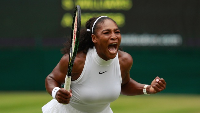 Serena Williams Beats Kerber in Wimbledon Final for 22nd Slam Title