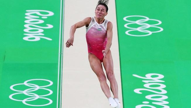 At 41, Gymnast Oksana Chusovitina Competes in 7th Olympics