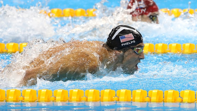 Phelps Wins Gold In Final — He Says — Olympic Race
