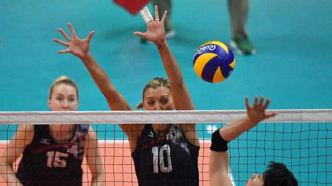 Women's Volleyball: US Beats.Japan, Advances to Semifinals